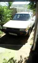1984 Toyota corolla 1.3 with 5 speed gearbox