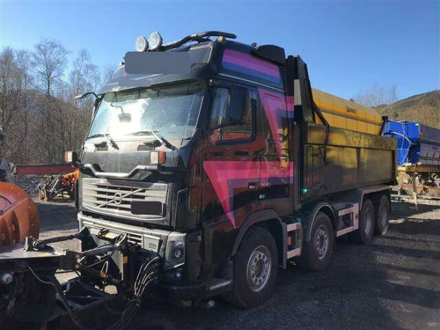 Volvo FH16.540 SOON EXPECTED 8X4 GLOBETROTTER FULL - 2011
