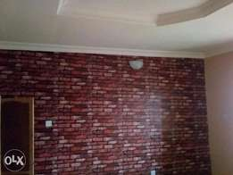Relatively New 3bedroom POP flat at Zartech oluyole upstairs 400k rent