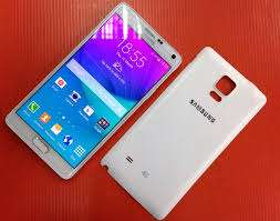 Samsung galaxy note 4 good second hand 32gb white colour .