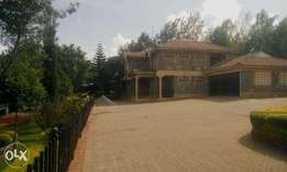 A 3 bedroom maisonette with a guest house on 1/2 acre;Ongata Rongai.