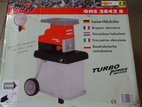 Sale ghs2842b wood chipper for  by auction