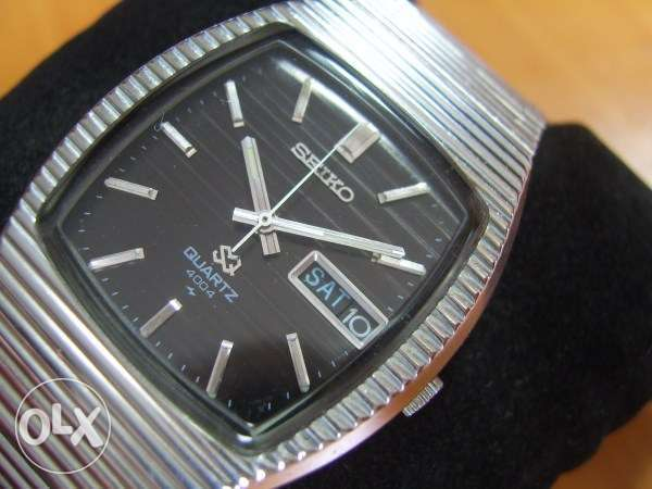 Rare 1970's SS Seiko SQ 4004 Quartz - Very Elegant Watch