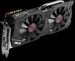 Asus strix geforce Nvidia GTX 970 Dual fans for silent gaming
