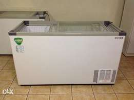 520L Commercial Glass Top Chest Freezer - New!