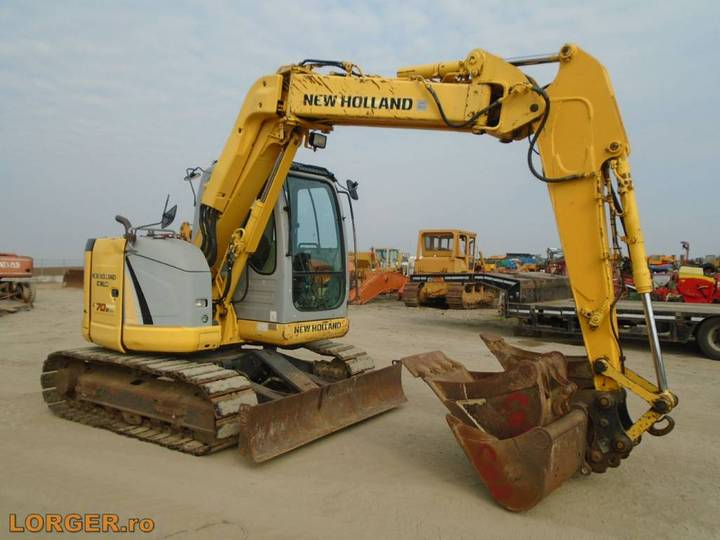 New Holland E 70 B Sr - 2008 - image 4