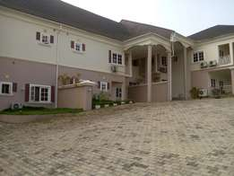 A tastefully finished & serviced 3bedroom terrace duplex at APO Zone E
