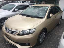 Toyota Allion 2010 Gold colour Fully Loaded