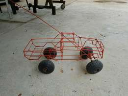 Wire toy car