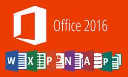 Microsoft Office 2016 installation with activation