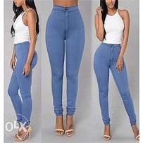 Ladies elastic pencil trouser flget from jumia for 2590 size large