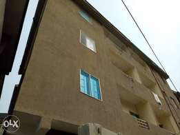 A Self contained apartment available at abule oja for 250k