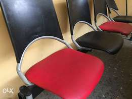 Reception four (4) Seat Chair
