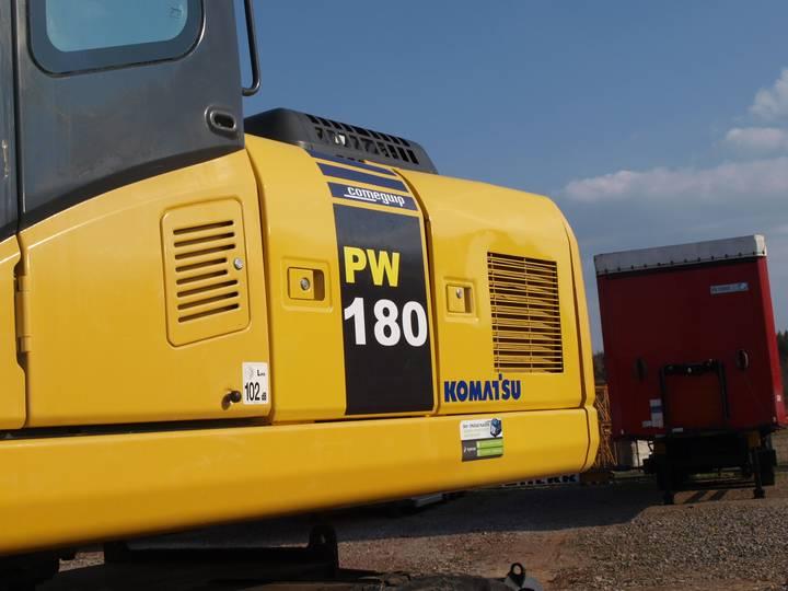 Komatsu PW180 - 2011 - image 9