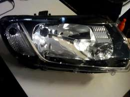 Renault Sandero new shape headlight