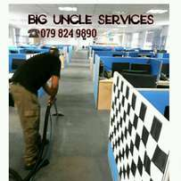 Residential & commercial capert cleaning services