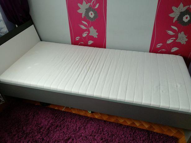 łóżko Młodzieżowe Z Wkładem Sprężynującym Bez Materaca