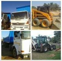 Rubbish Removal and truck rental Witbank