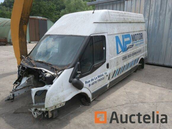 Sale truck without engine for parts closed box van for  by