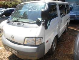 Nissan Vanette KCK,year 2009 in Parklands.