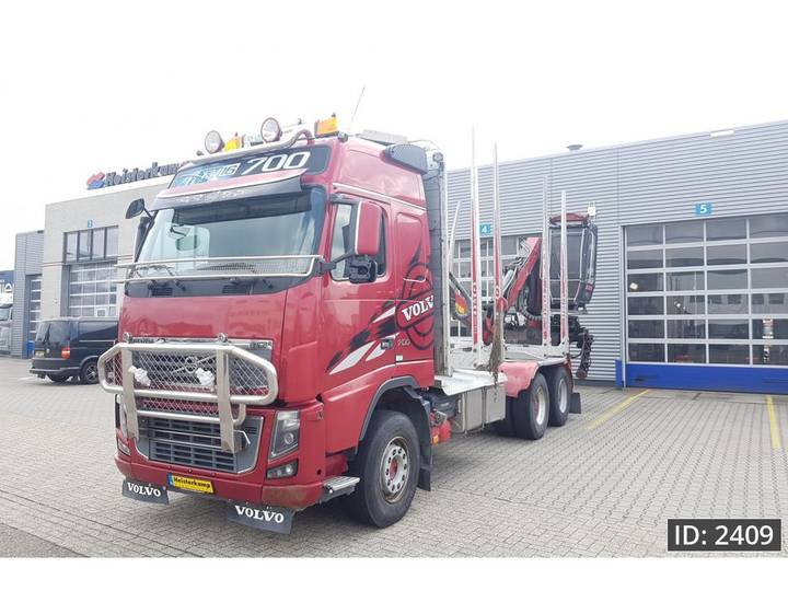 Volvo FH16.700 Globetrotter, Euro 5, full steel suspension - 2010