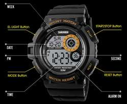 New Army Men Analog Digital Wrist Watch Waterproof Military