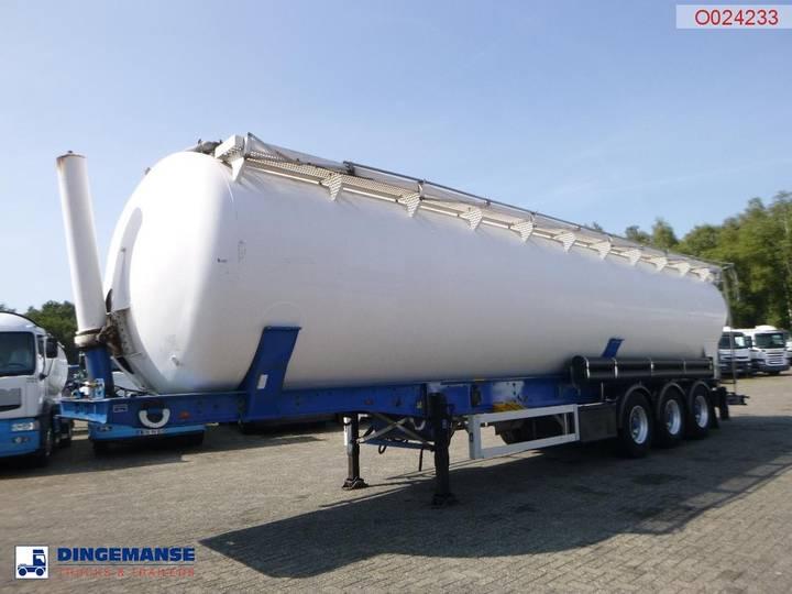 Feldbinder Bulk tank alu 63 m3 / 1 comp (tipping)