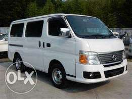 Nissan caravan fully loaded 2010 model diesel, finance terms accepted