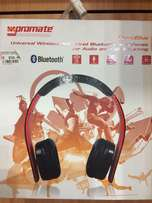 new promate Bluetooth headphones 10meter range