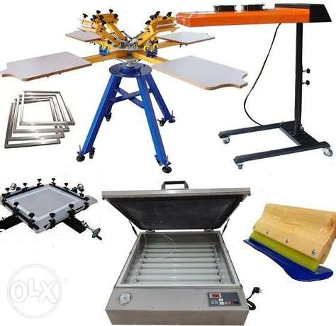 4 station screen printing machine Nairobi CBD - image 1