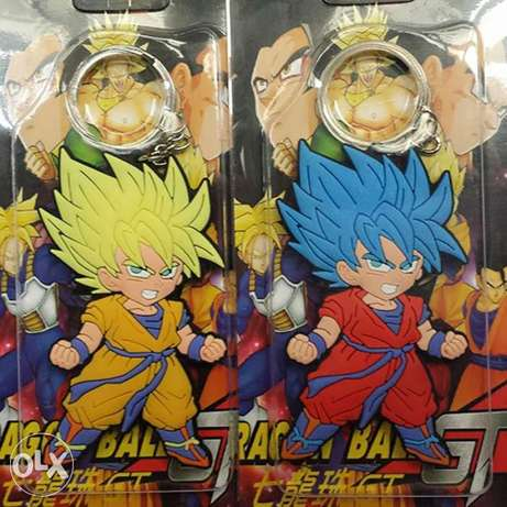 Dragon ball special keychains