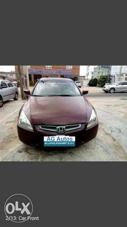 SUPER Clean  Honda Accord EX i-VTEC 2.0 2004 Ikeja - image 1