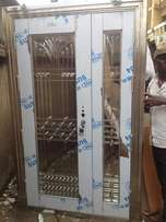 Top quality stainless steel glass doors