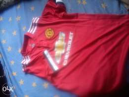 2017/18 Manchester United home shirt (jersey) brand new.