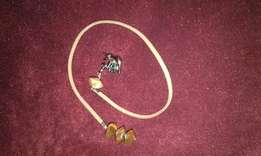 #3 bookmark size 28 cm brown in colour with charm + Free keyring