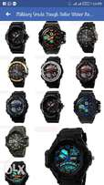 Military grade tough solar watches