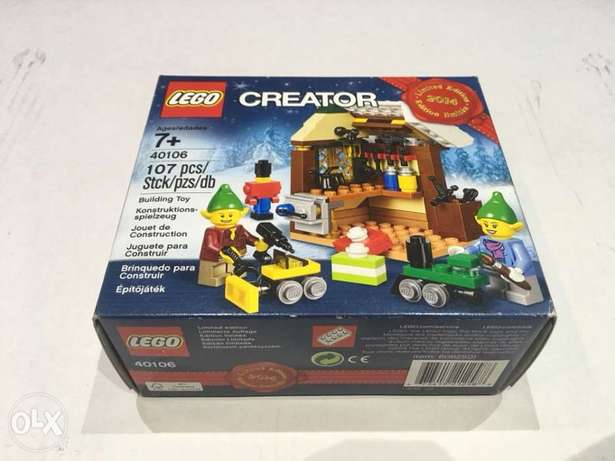 LEGO limited edition 2014 NEW sealed 40106