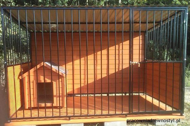 d8fb97ea1e24fb kojec dla psa stalowy spawany, ciężki, wysoki, profesjonalny, ładny Poznań  - image