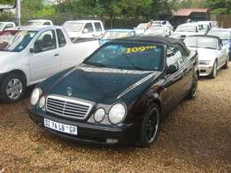 mercedesw Benz clk for sale