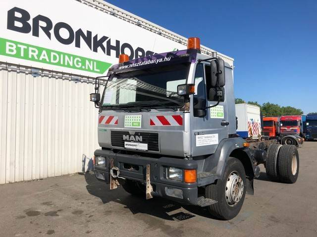 MAN 18.284 Chassis - Euro 2 - Full Steel - Pto - Big A - 2000