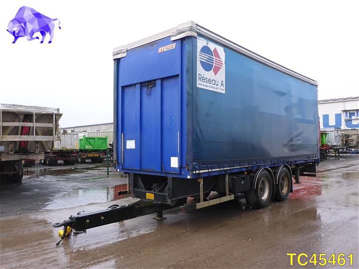GENERAL TRAILER Tarpaulin - 2001