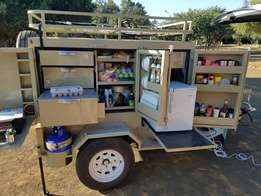 Camping trailer 4x4