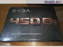 EVGA 450B PC power supply - SHUFFLE