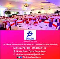 We're Professionals in Event Decoration, Videography & Photography.