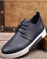 British Fashion Leisure Breathable Men's Sneakers – Blue