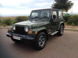 2006 Green Jeep Wrangler 4.0 Sport 4 X 4 65th Anniversary Limited Edit