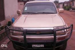 Well-maintained & rugged 4 Runner, padded & Limited Edition for N799k