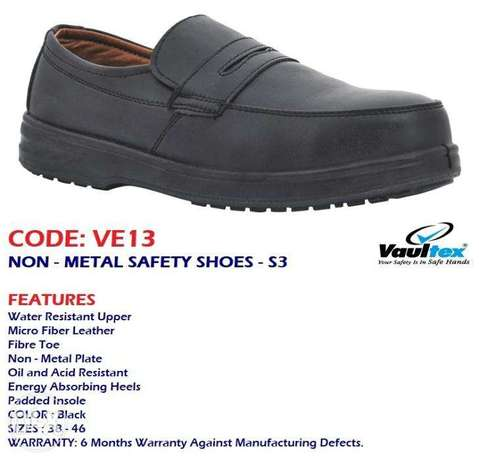 CoDe:Ve13, SaFety ShOEs/Non - mEtAl