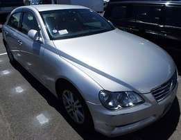 Mark X Toyota 2006 silver used accident free