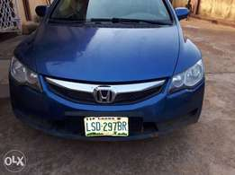 A clean registered Honda civic for sale, 2008.